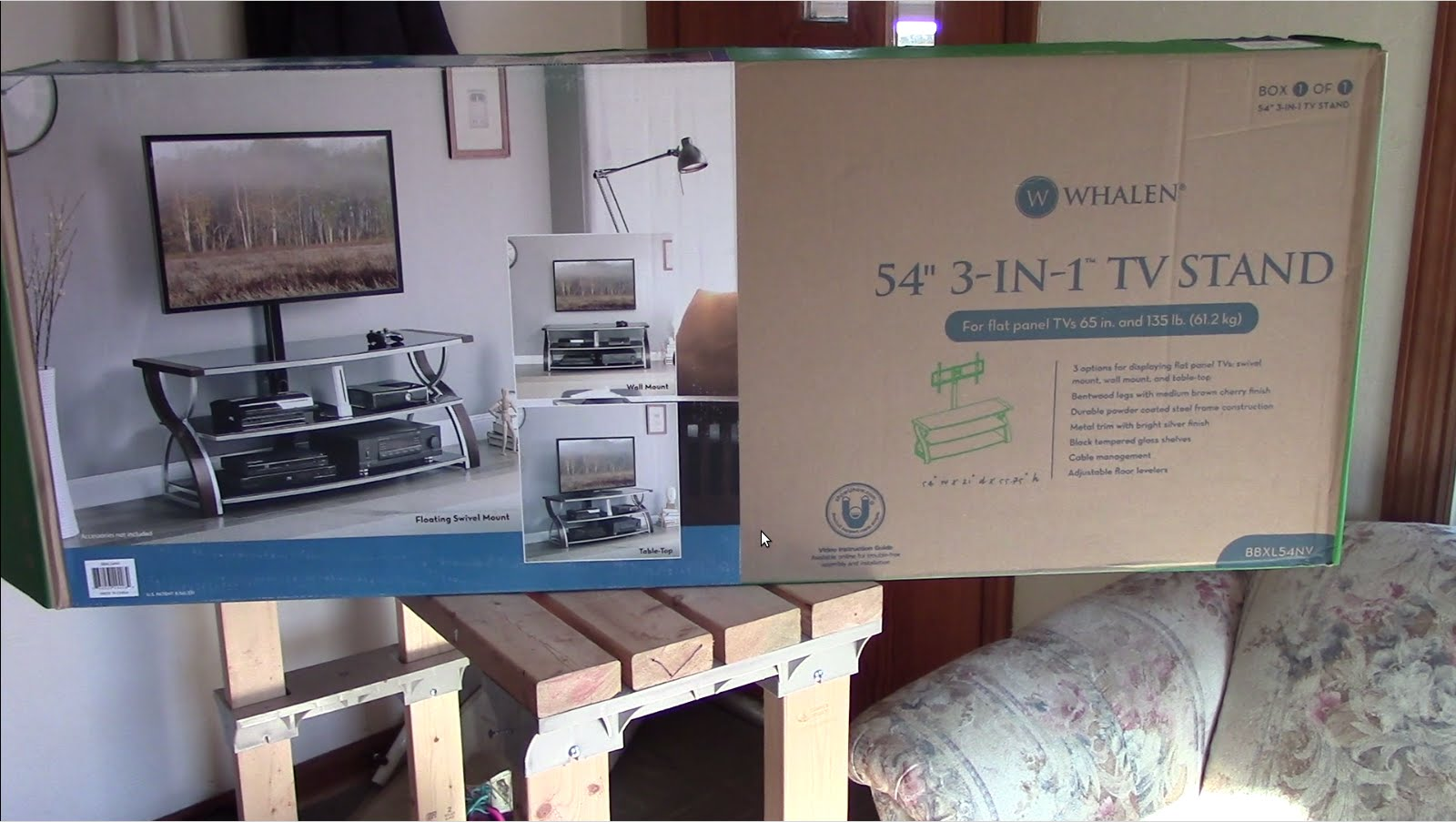 Whalen 3 In 1 Tv Stand Review