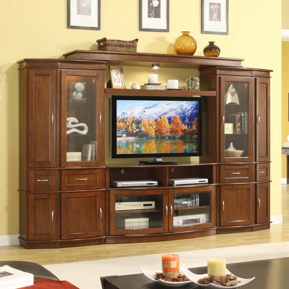 Whalen Furniture Tv Stand With Fireplace