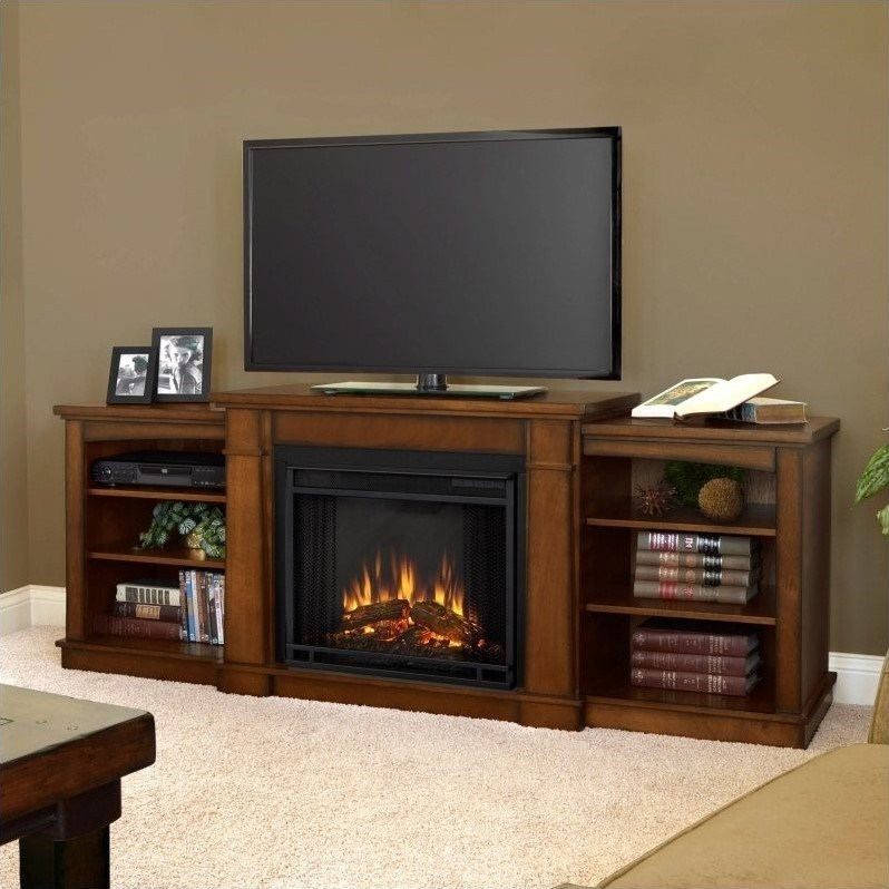 Whalen Tv Stand With Fireplace
