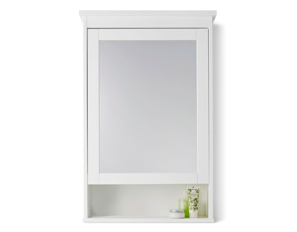 White Bathroom Mirror Cabinet