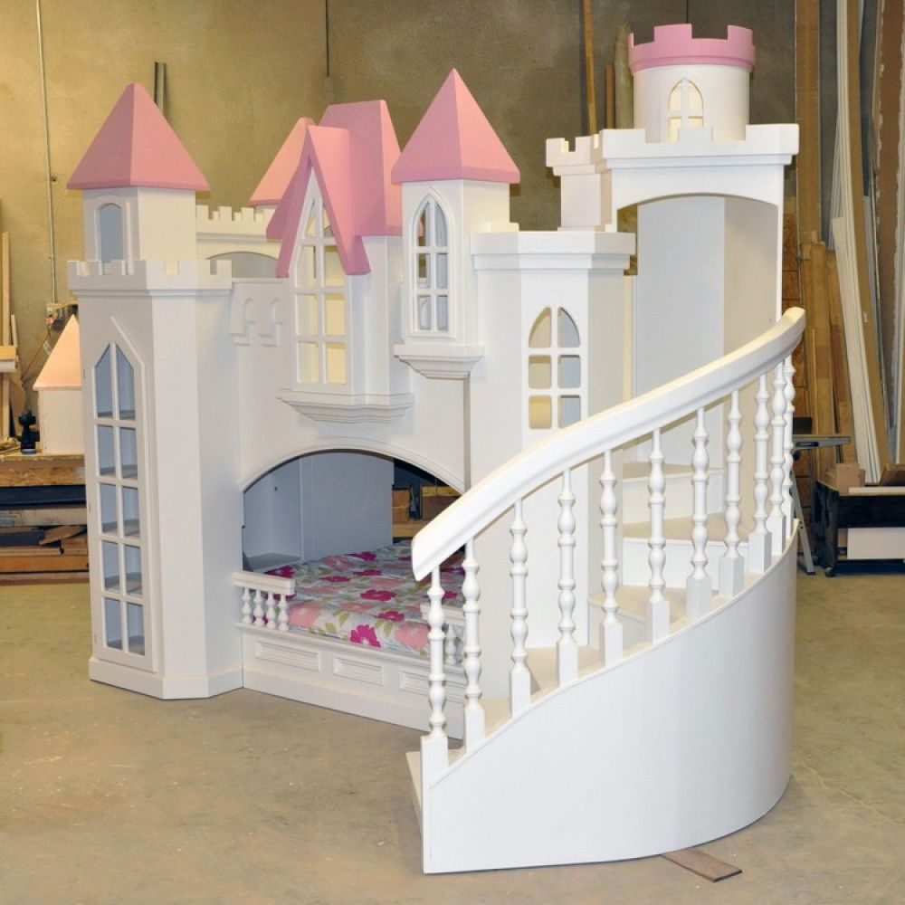 White Bunk Beds For Kids