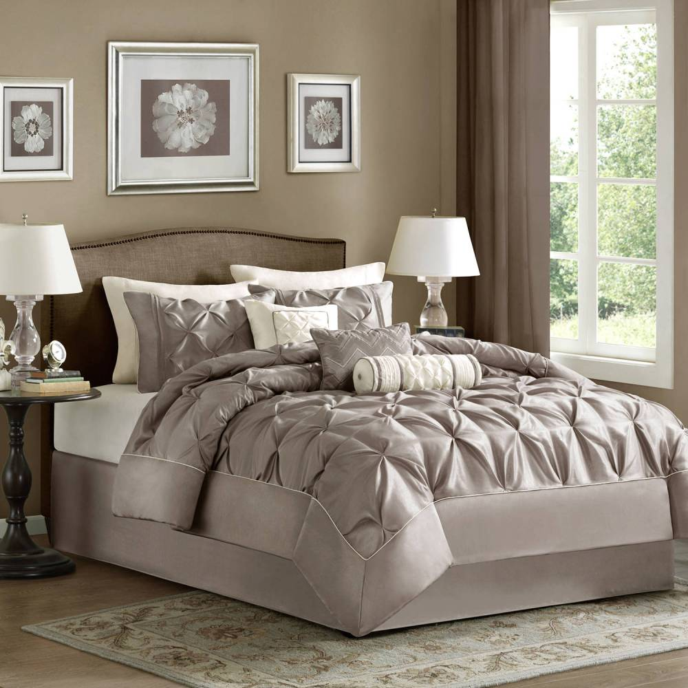 White California King Comforter Set