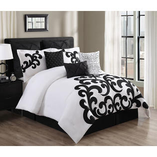 White Comforter Bed Set