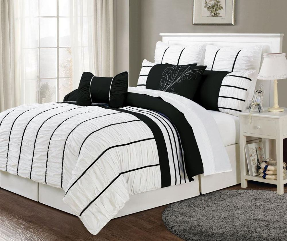 White Comforter Sets Full Size