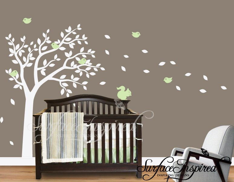White Decals For Walls