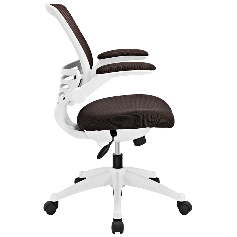 White Fabric Office Chair