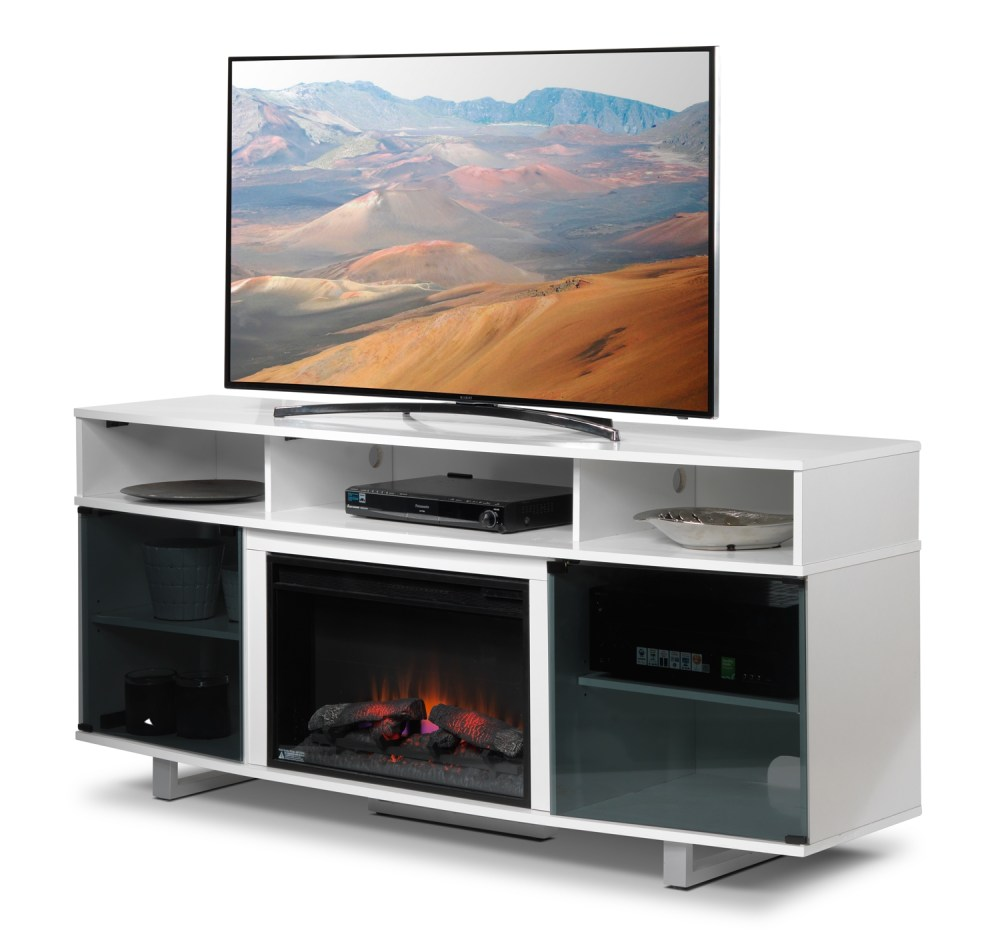 White Fireplace Tv Stand Canada