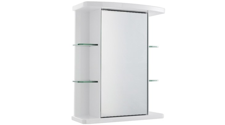 White Gloss Bathroom Cabinet