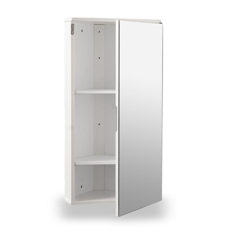 White Gloss Bathroom Wall Cabinet