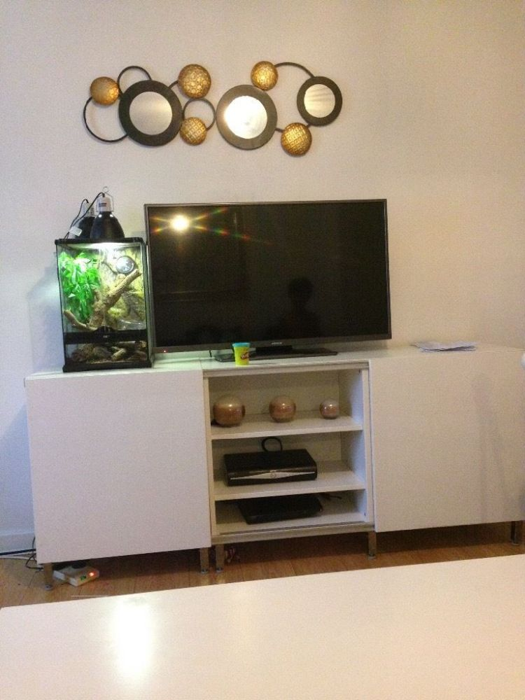 White High Gloss Tv Stand Ikea
