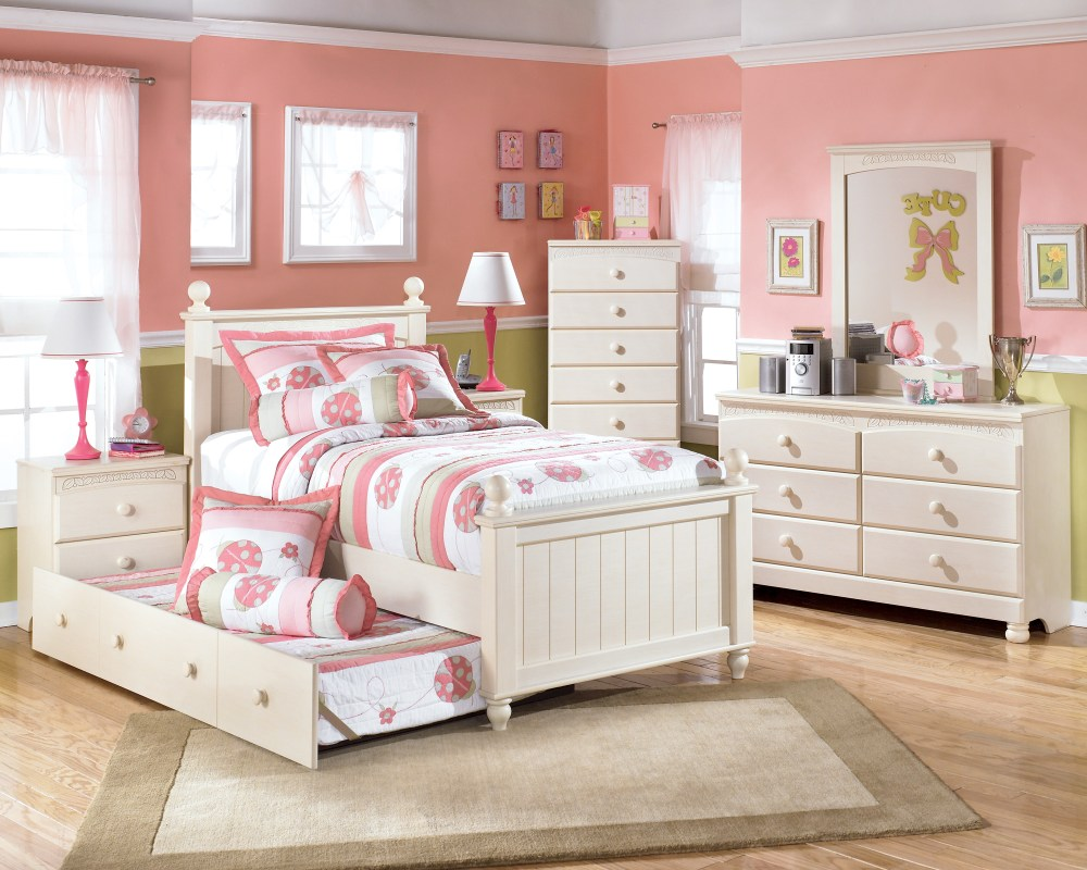 White Kids Bedroom Set