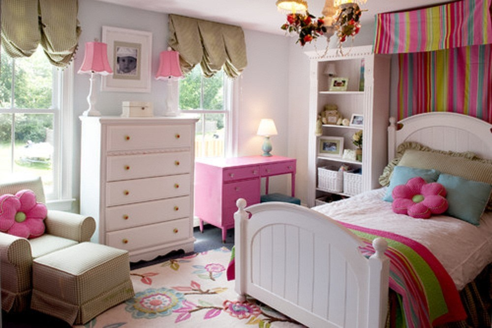 White Kids Bedroom