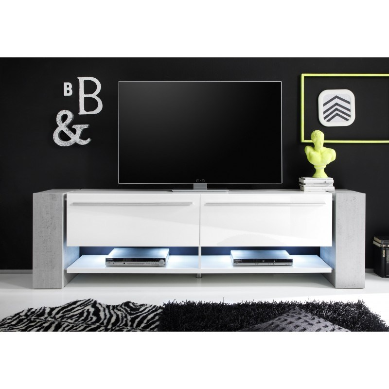 White Large Tv Stand