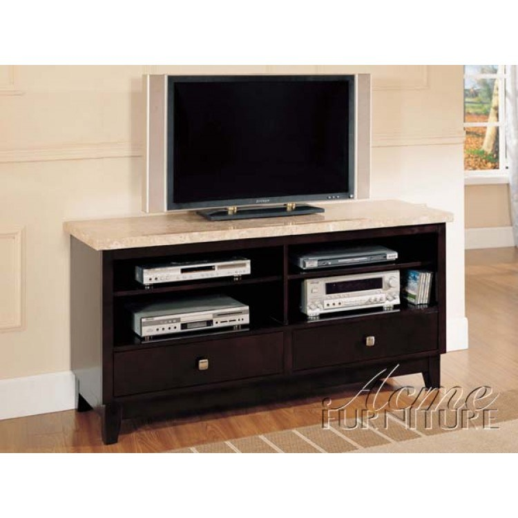 White Marble Tv Stand