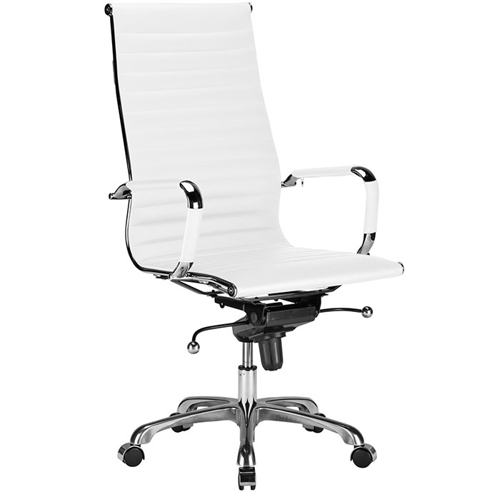 White Modern Office Chair