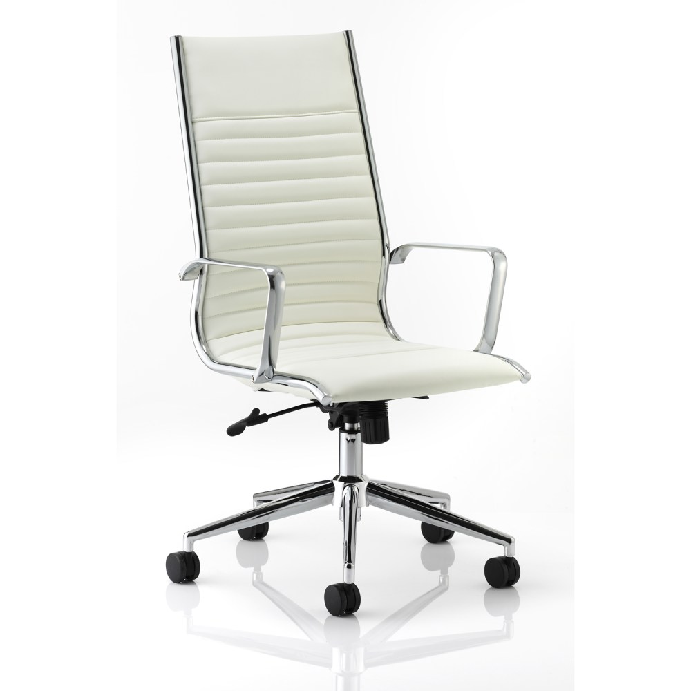 White Modern Office Chairs