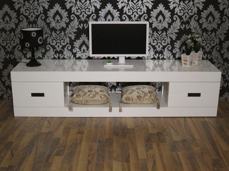 White Modern Tv Stand For Sale