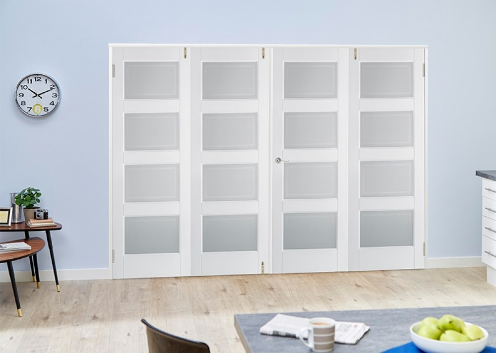 White Room Divider Doors