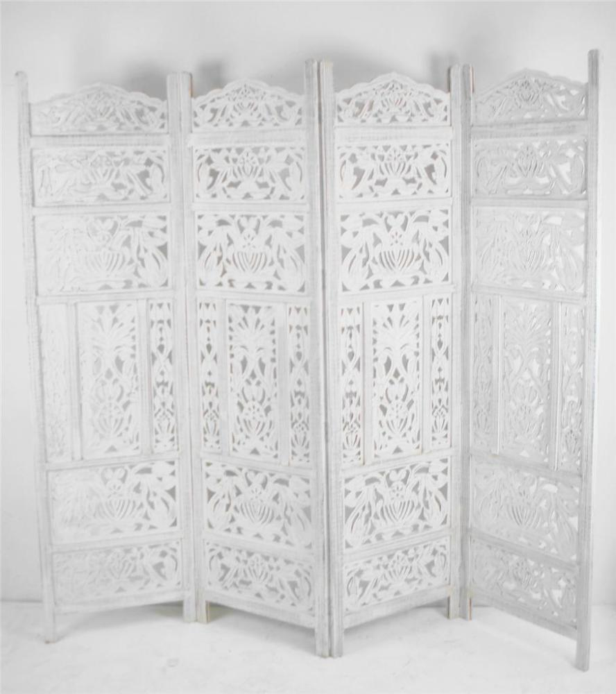 White Room Divider Screen