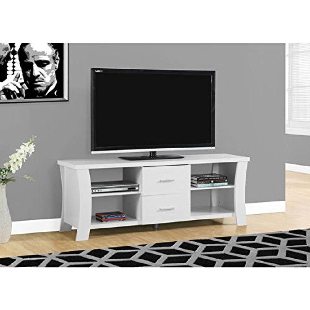 White Tv Stand 60 Inch