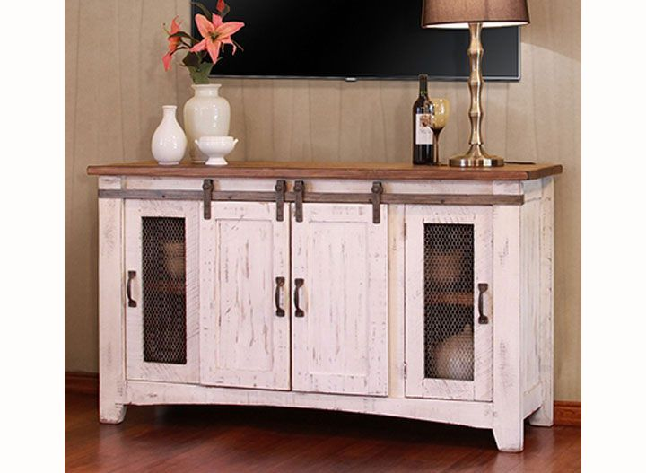 White Tv Stand Decor