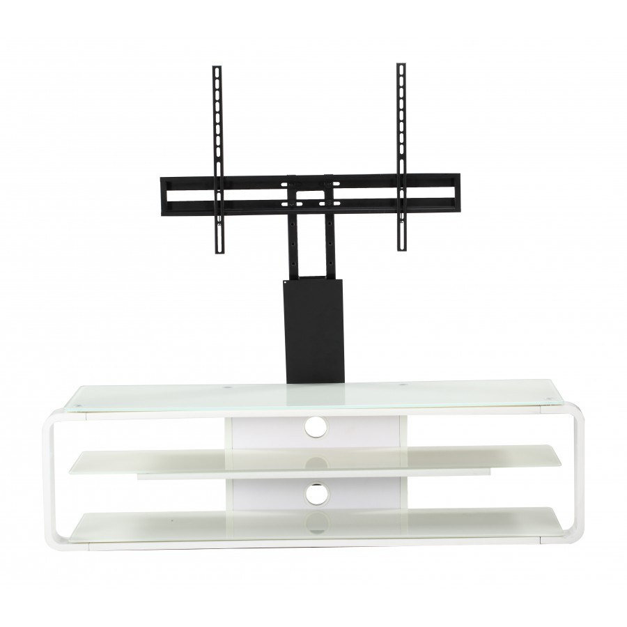 White Tv Stand With Bracket