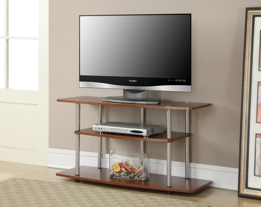 White Tv Stands For Flat Screens