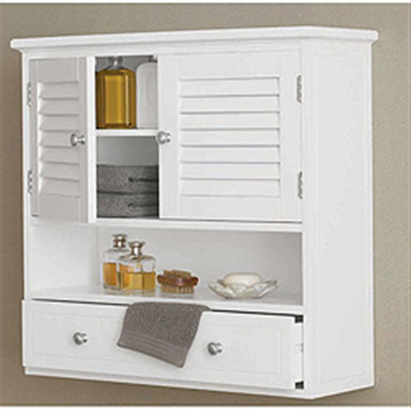 White Wall Bathroom Cabinet