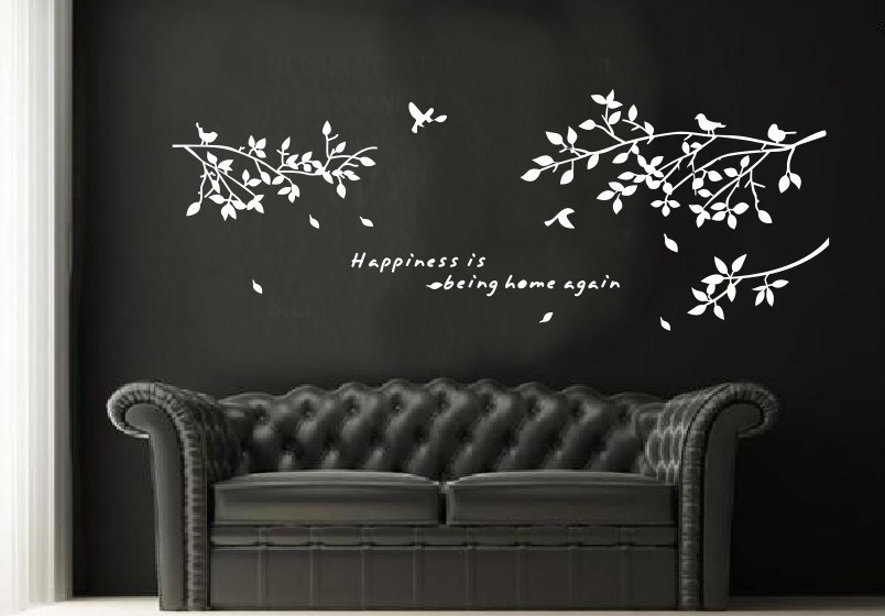 White Wall Decal Quotes