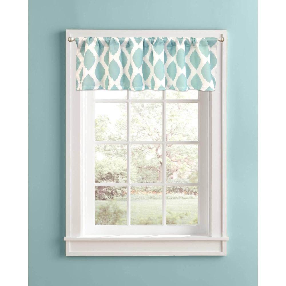 White Window Valances