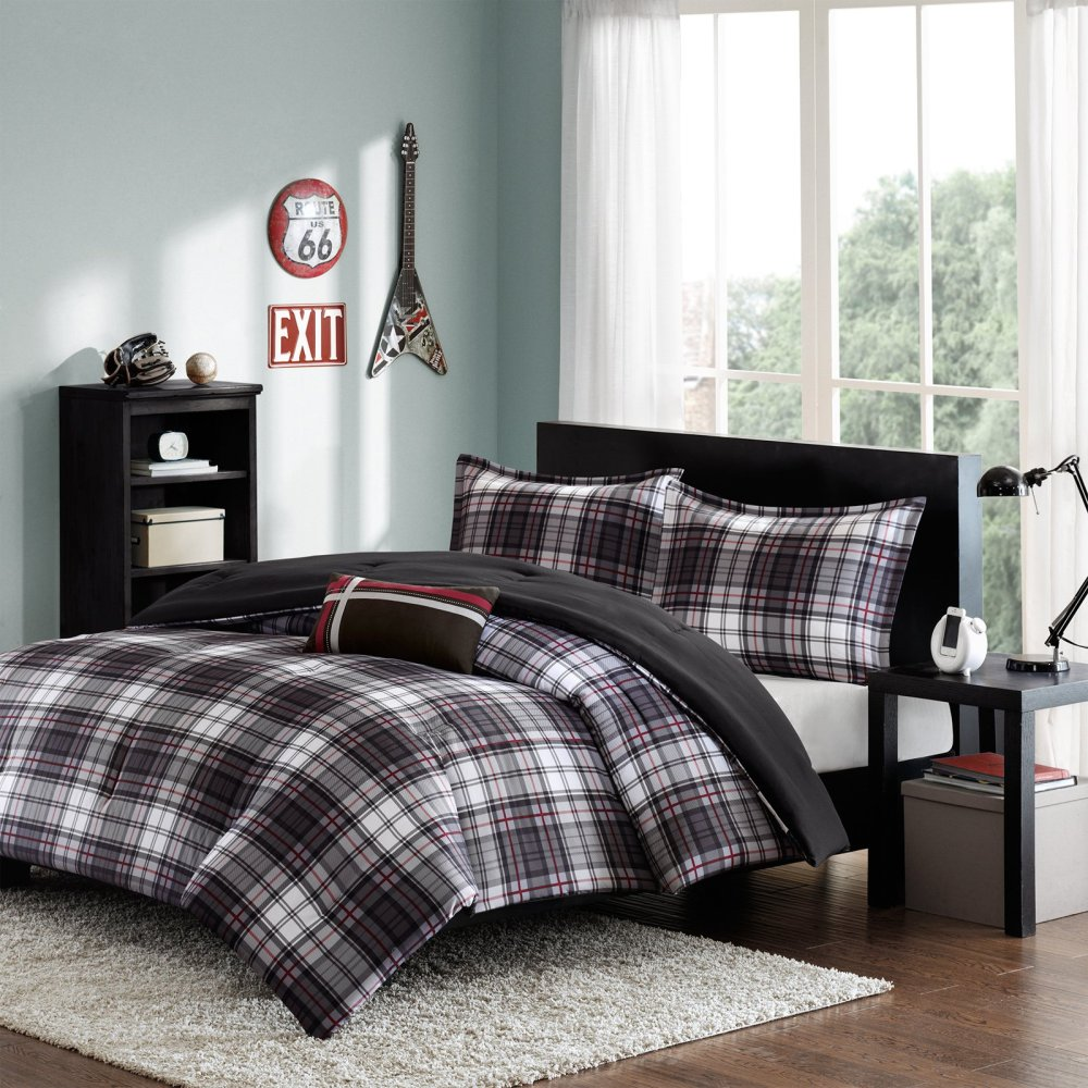 Williamsport Plaid Comforter Set By Woolrich