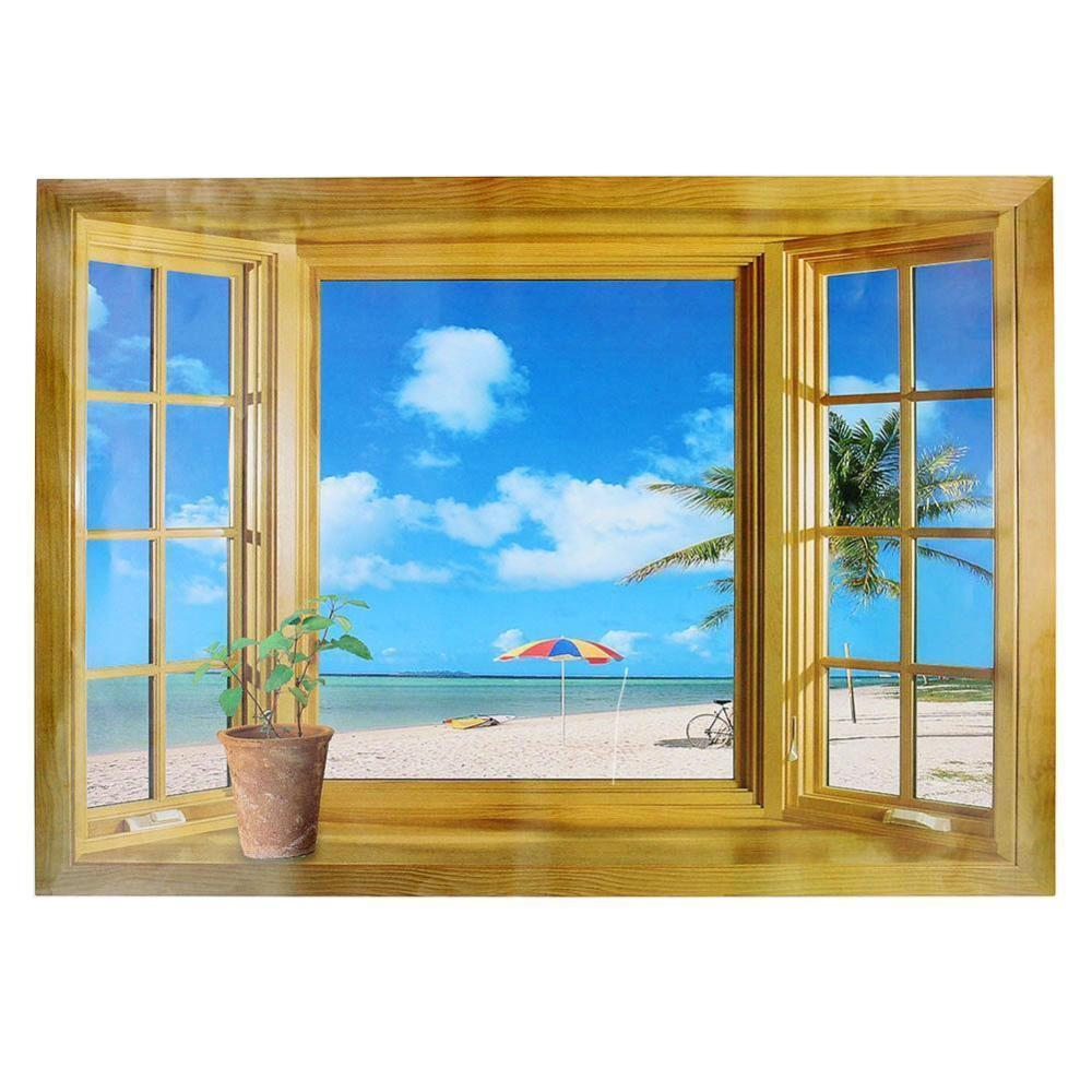 Window Frame Wall Decal