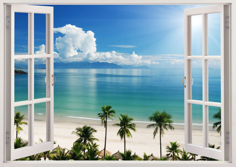 Window Scene Wall Decals