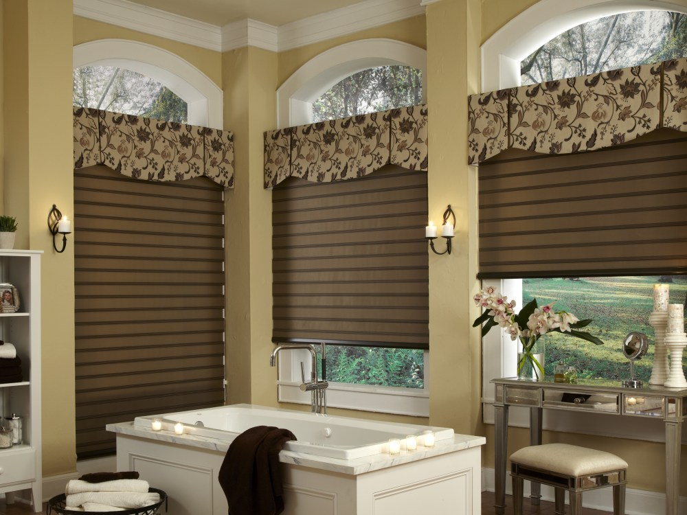 Window Treatments Vertical Blind Valance Ideas