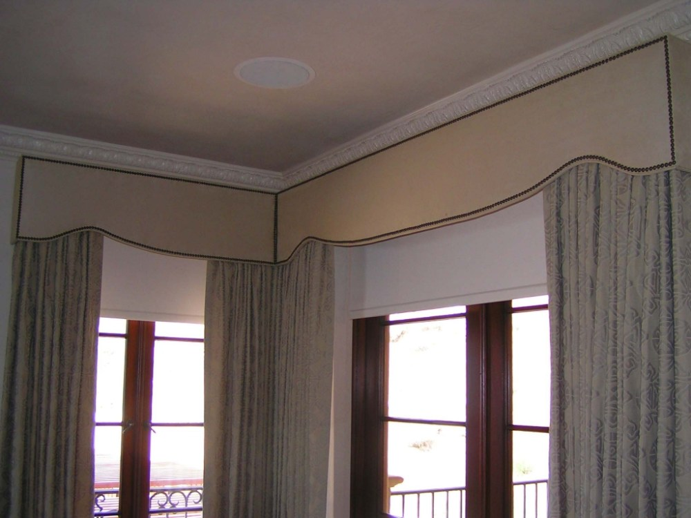Window Valance Box Cornice