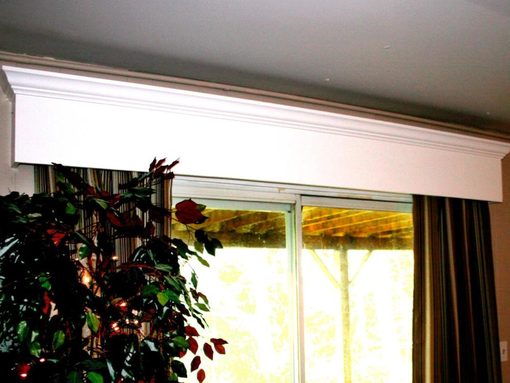 Window Wood Valance Ideas