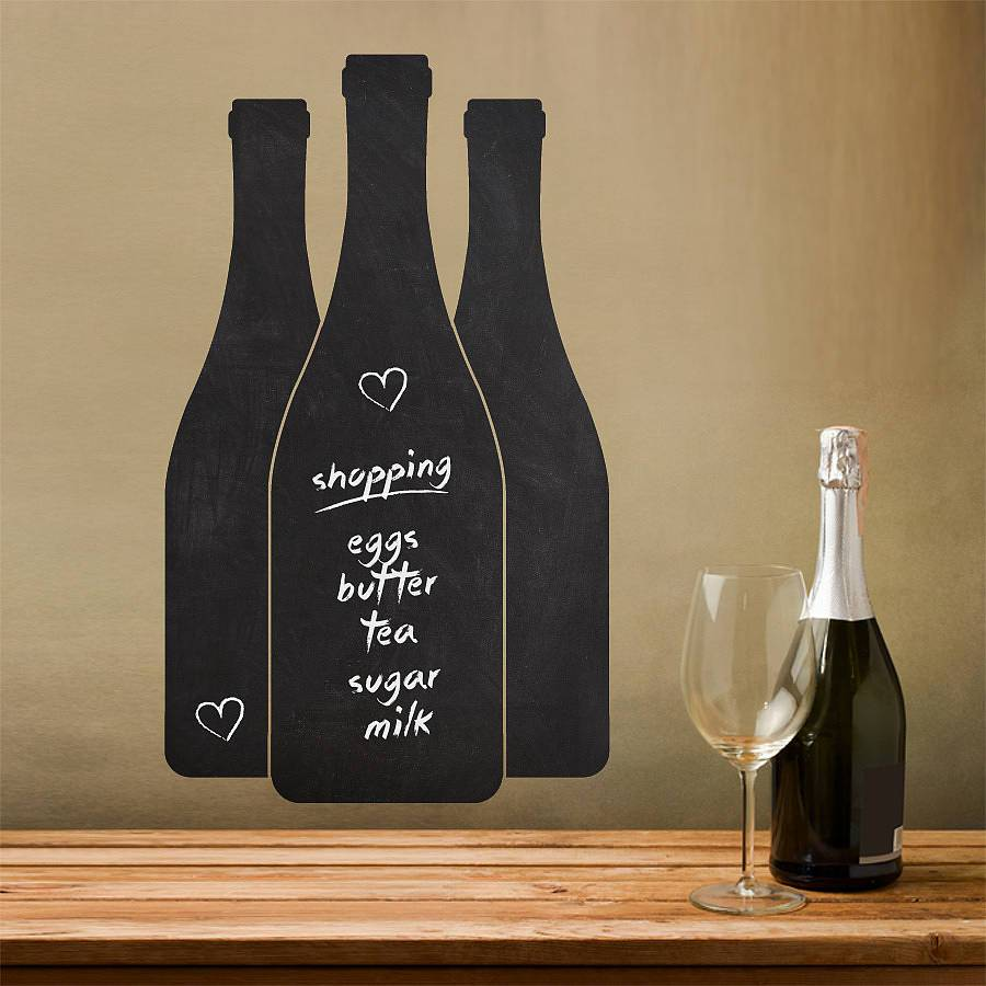 Wine Bottle Wall Decals