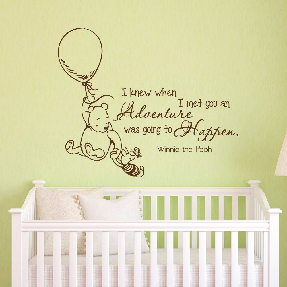 Winnie The Pooh Wall Decal Quotes