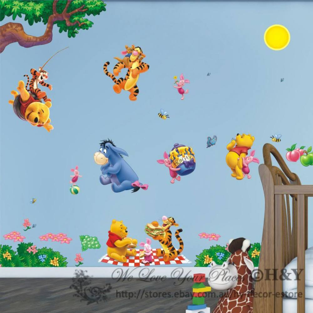 Winnie The Pooh Wall Decals Canada