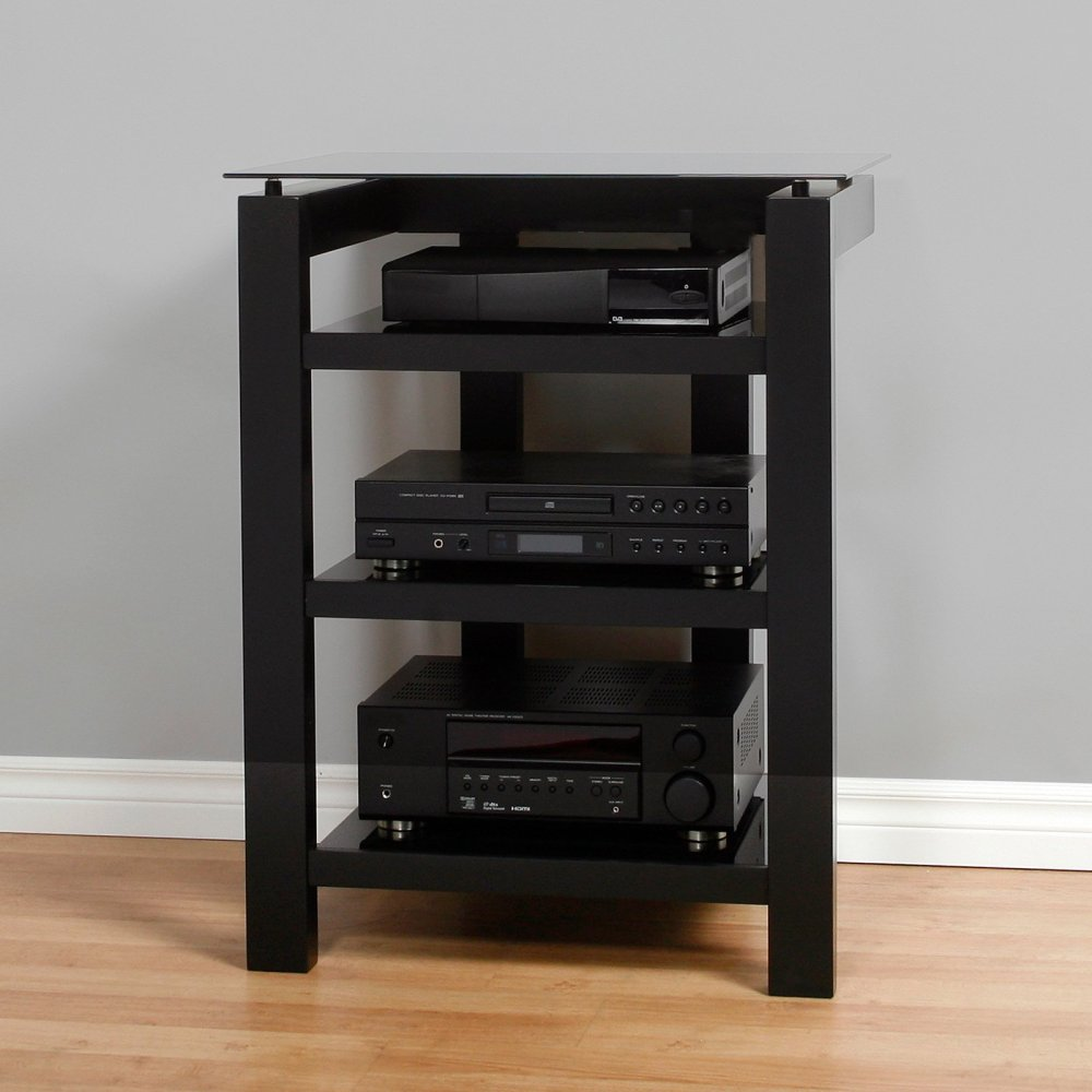 Wood And Glass Tv Stand Walmart