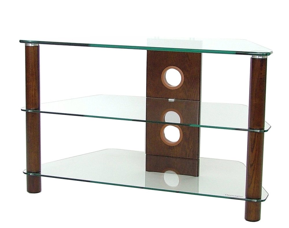 Wood And Glass Tv Stands