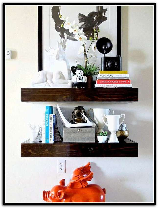 Wood Floating Shelves Canada