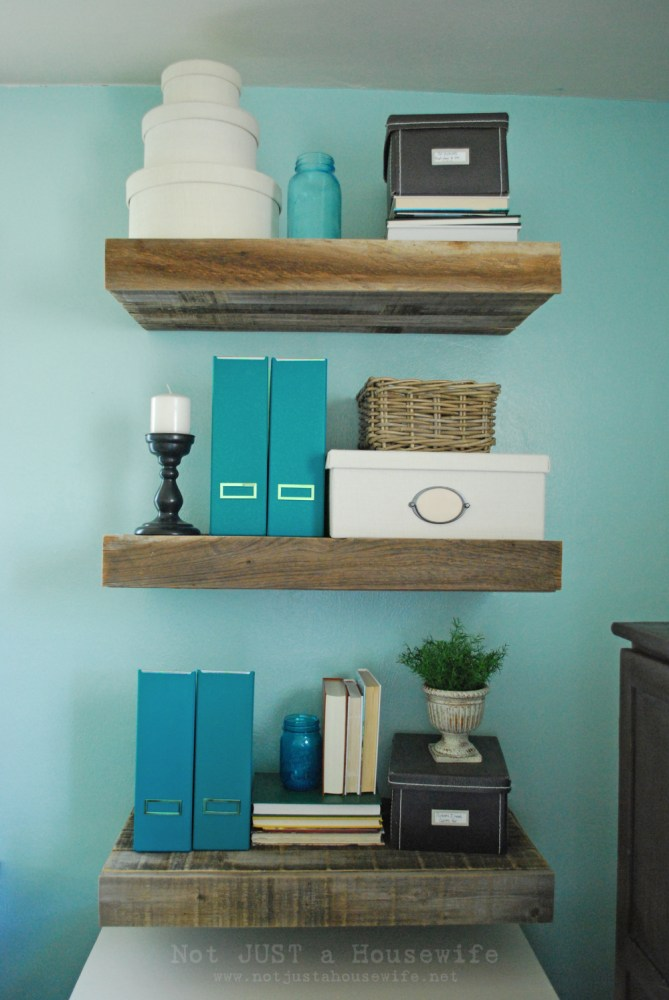 Wood Floating Shelves