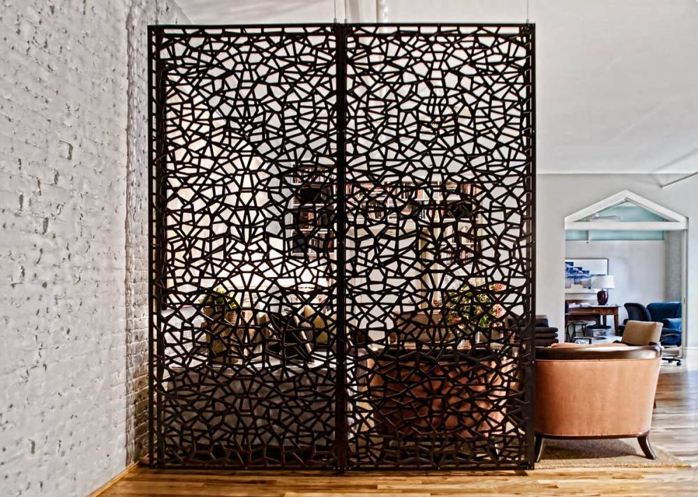 Wood Room Divider Screens