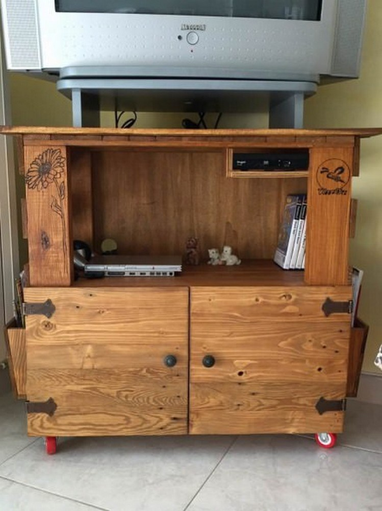 Wood Tv Stand Plans