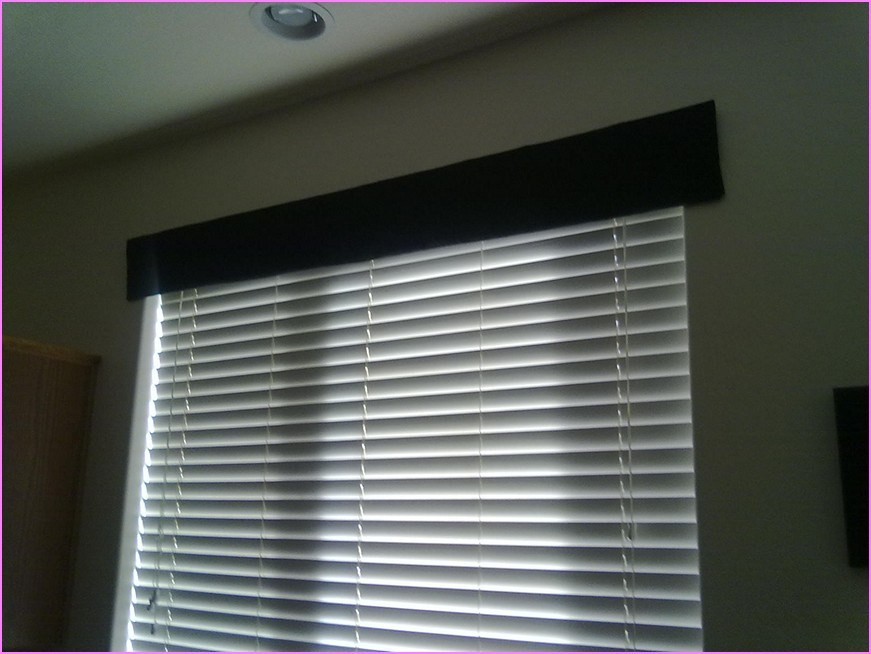Wood Window Valance