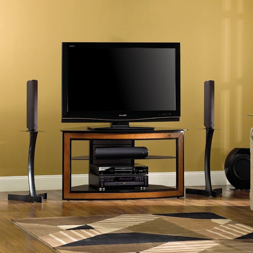 Wooden Corner Tv Stands For Flat Screens