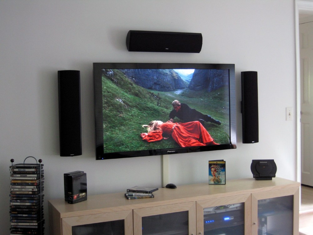 Wooden Easel Tv Stand
