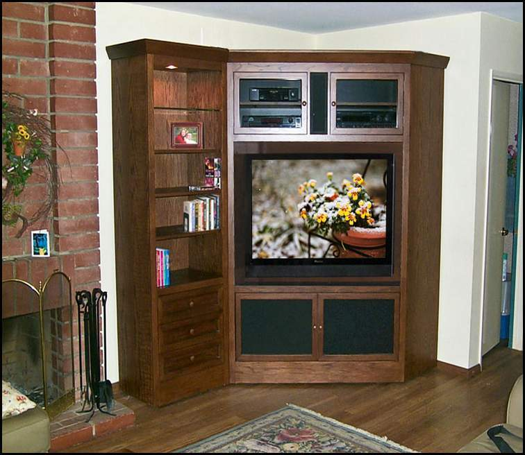 Wooden Flat Screen Tv Stands