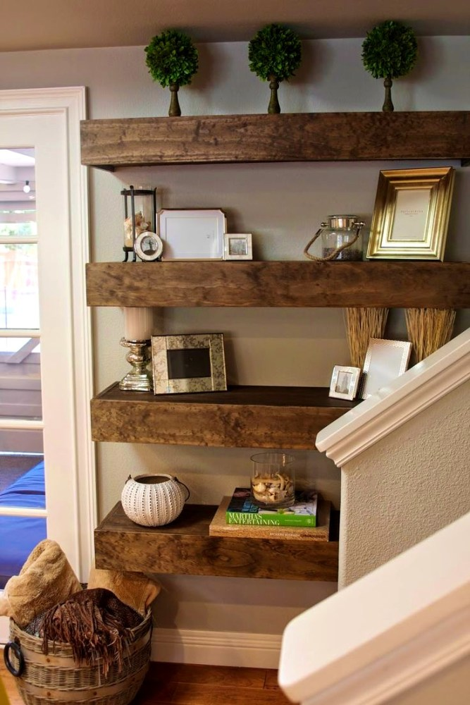 Wooden Floating Shelves Ikea